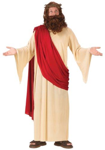 Fun World 5436FW-STD Mens Jesus Kost-m Gr--e Standardgr--e