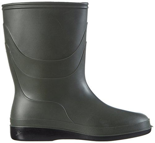 Dunlop B550631 DESINFECTIE, Stivali in gomma non imbottiti Unisex – adulto Verde (Dark Grey/grey/red)