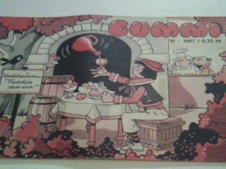 Bummi 1987 Heft 10 , Knobelmärchen: Tischlein deck dich, DDR Bilderheft ab 3 Jahre, Kinderzeitschrift