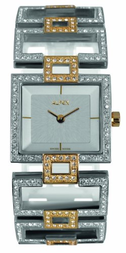 Alfex – 5685 _ 816 – Ladies Watch – Analogue Quartz – Grey Dial – Grey Steel Bracelet