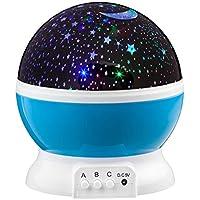 Original Star Master 2.0i giratorio 360grados Con 2Accesorios de ensueño–Proyector de Estrellas y de noche lich I de cable y pilas I color: Cielo azul