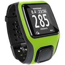 TomTom Multi-Sport - Reloj GPS para triatlón, color verde