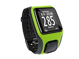 TomTom GPS Sportuhr Multisport, Bright Green, One size, 1RS0.001.04