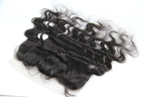 30,5 cm cheveux vierges brésiliens Ondulés dentelle fermeture/fermeture supérieure (33 x 10,2 cm) couleur naturelle 120% Densité