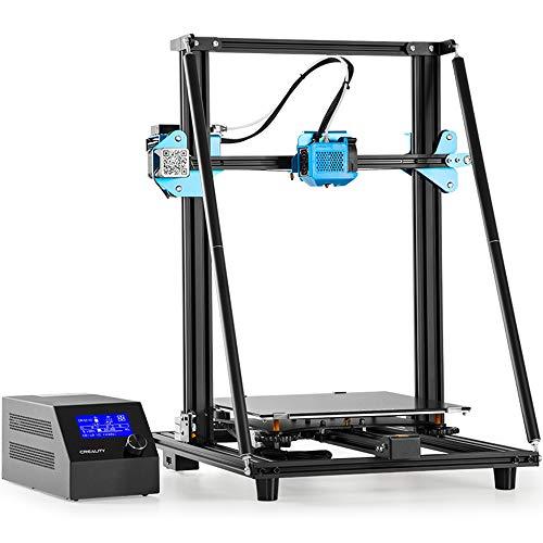 Creality Stampante 3D CR-10 V2, Unità di Estrusione Interamente in Metallo, Alimentatore Meanwell da 350 W/24V, Vite a Due Assi con Asse Z, Dimensioni di Stampa 300 * 300 * 400 mm