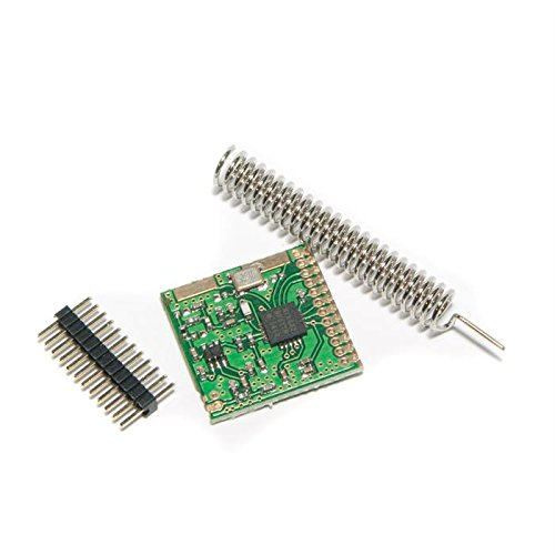 Wireless-nation (Wireless SI4432 Transceiver Module 433Mhz and up to 1.5KM Range by Make Nation)