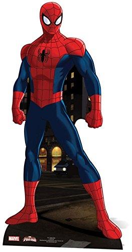 Pappaufsteller Spider Man Standup Figur Kinoaufsteller Pappfigur Cardboard Lebensgroß Life-Size Standup