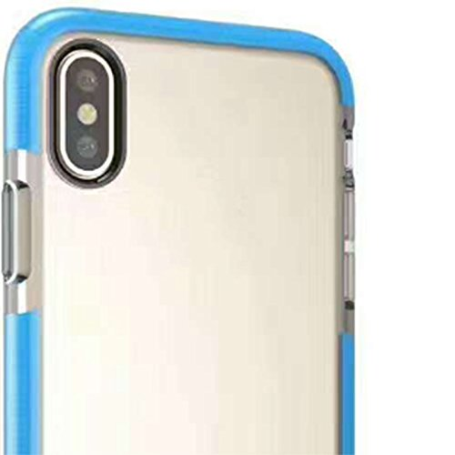 Hosaire 1x Handyhülle Schalen für Apple iphone X Phone Case Neue Apple Telefon Fall Schutzhülle Phone Back Cover Shell Blau