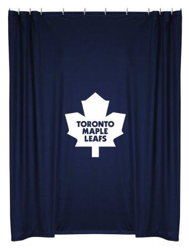 NHL Unisex Vorhang für die Dusche, unisex - erwachsene Unisex Kinder herren, Toronto Maple Leafs, 72 x 72 (Sport-duschvorhänge)