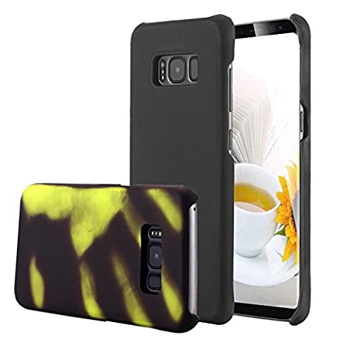 Galaxy S8 Plus Hülle,Galaxy S8 Plus Case, Snewill Magic Heat-Sensitive Case Color Changing Thermal Sensor Heat Thermal Induction Slim Thin Hard Case Cover for Samsung Galaxy S8 Plus, (Thermal Sensor)