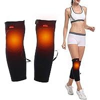Baumwolle Erhitzt Knie-Wraps Knie-Klammer-Bein-Stützen Thermal Breathable Elektrisches Therapeutisches Heizkissen... preisvergleich bei billige-tabletten.eu