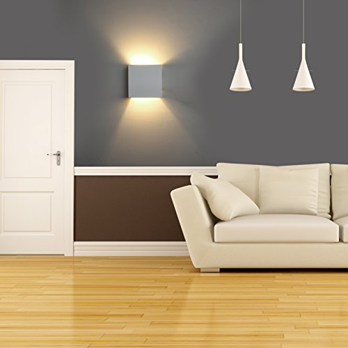 DECKEY Wall Light Indoor LED Up And Down Lamp Uplighter