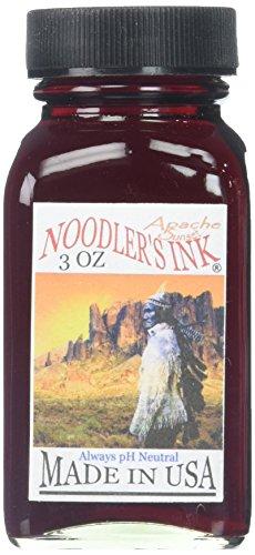 90 Schwarz 3 Ink (Noodlers Ink Tinten-Flasche zum Nachfüllen, Apache Sunset)