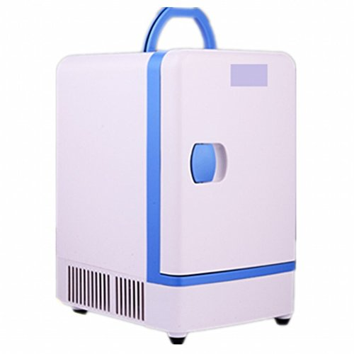 Preisvergleich Produktbild 7L Auto Kühlschrank Mini Mini Kühlschrank Dual-Use kalt und kalt Kühlschrank Gefrierschrank,Weiß