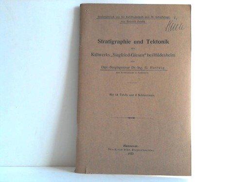 Stratigraphie und Tektonik des Kaliwerks Siegfried-Giesen bei Hildesheim