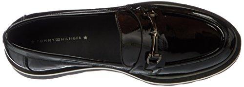 Tommy Hilfiger Ladies P1285aulina 3p Mocassino Nero (nero)