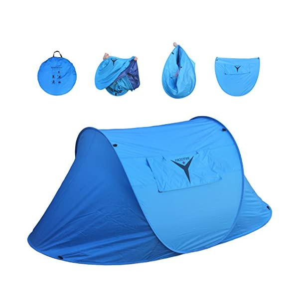 Frostfire Large 2 Person Instant Popup Tent 1