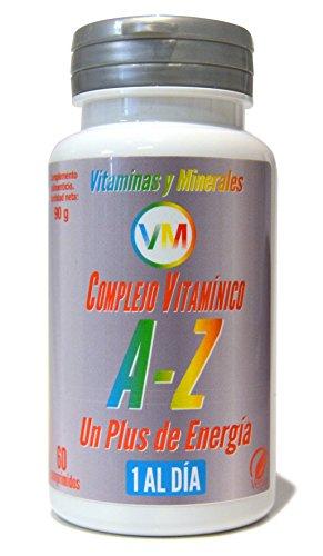 Vitaminas, minerales, complejo multimineral, multivitaminico, cansancio y fatiga, hierro, acido fólico, b12, bienestar, solo 1 comprimido al día
