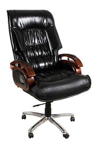 President's Suite Luxury Office Reclyner Chair in Black