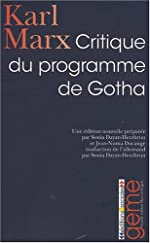 Critique du programme de Gotha de Karl Marx
