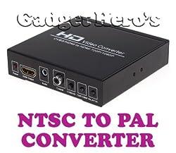 Gadget Heros CVBS AV + HDMI TO HDMI PAL NTSC HD Converter 720P/1080P