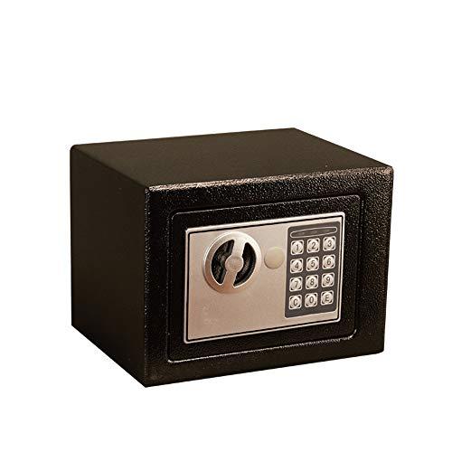 Caja Fuerte Ministerio del Interior Cash Money Box Caja de Seguridad Mini Hogar Digital electrónica...