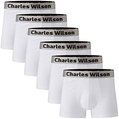 Charles Wilson Confezione da 6 Trunk Boxer da Uomo