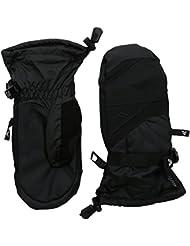 Niños guantes Gordini Stomp III Junior Mitt, otoño/invierno, infantil, color Negro - negro, tamaño S