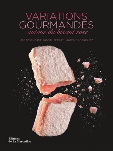 Variations gourmandes autour du biscuit rose par Lise Beseme-pia