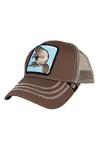 Goorin Bros. Trucker Cap Beaver Brown -