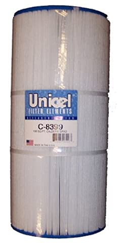 Darlly C8399 Cartouche de filtre de remplacement pour pieds carrés Caldera 100