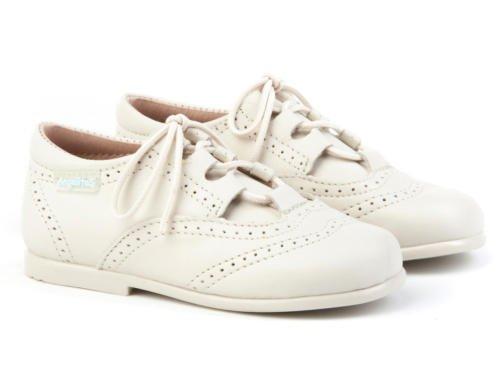 ANGELITOS , Chaussures de ville à lacets pour garçon Beige