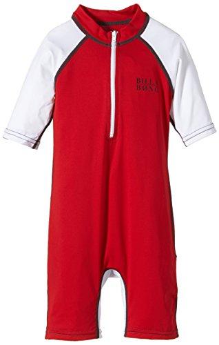 Billabong Kinder Rash Guards Tiger Suits Short Sleeve, Fire Red, 3, 1S4KY14BIP5 67614 BI