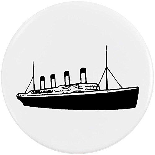 Azeeda 58mm 'Titanic Ship' Medium Button Pin Badge (BB00043521)
