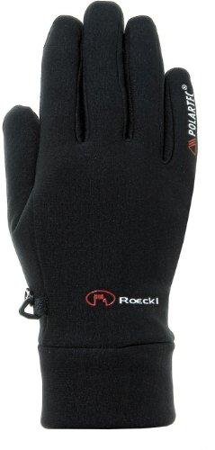 Roeckl Erwachsene Kasa Handschuhe, Schwarz, 10.5
