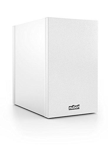 Nubert nuBox 303 Regal-/Dipol-Lautsprecher 2-Wege (12,0 cm Tieftöner, 2x 1,9 cm Hochtöner, 100/130 Watt, 74-27000 Hz), Stück, Weiß / Weiß