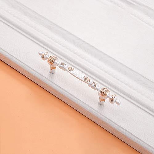 6PCS Fach-Diamant-Einzelnes Loch-Zink-Legierungs-Griff 36.8/96 / 128mm, Möbel-Garderobenschrank-Hardware-Moderner Schlafzimmer-Griff,96mm