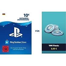 PSN Guthaben für Fortnite - 1.000 V-Bucks - 1.000 V-Bucks DLC | PS4 Download Code - deutsches Konto