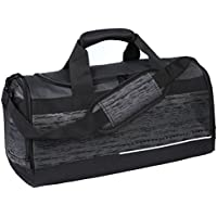 MIER Mens Holdall Gym Bag Sports Duffel Bag with Shoes Compartment for Weekender, Overnight, Carry on, 40L & 50L