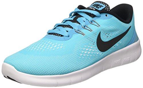 Nike Mädchen Free Rn (Gs) Gymnastik Blau (Gamma Blue/Black-White)
