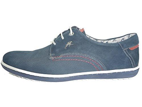 Fluchos , Chaussures de ville à lacets pour homme bleu bleu 40 Bleu