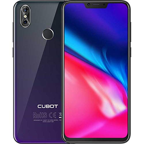 "Cubot P20 15,7 cm (6.18"") 4 GB 64 GB SIM Doble 4G Black 4000 mAh - Smartphone (15,7 cm (6.18""), 4 GB, 64 GB, 20 MP, Android 8.0, Black)"