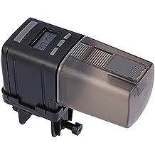 Anself - Alimentador de Peces Automático, Temporizador de Alimentación de Acuario Estanque, LCD Pantalla