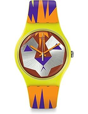 Swatch Damen-Armbanduhr SUOJ106
