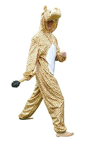 Giraffen-Kostüm, J24/00 Gr. XL, Für hoch gewachsene Männer und Frauen! Giraffe Karnevalskostüm für Männer und Frauen, Giraffen-Kostüme für Fasching Karneval, als Karnevals- Fasnachts-Kostüm, Tier-Kostüme Faschings-Kostüme Erwachsene