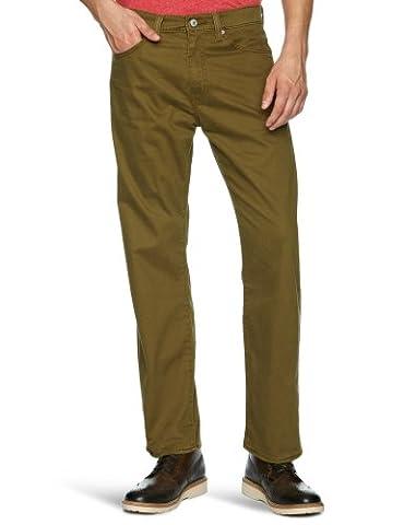 Levi's® Herren Stoffhose 751 Standard Fit,00751, Gr. 31/34 (31 IN), Braun (BROWN 0068) (Strauß Denim)