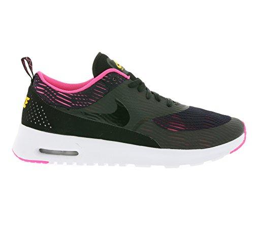 Nike W Air Max Thea EM, Chaussures de Sport Femme, 35.5 EU Noir - Negro (Black / Black-Pink Blast)