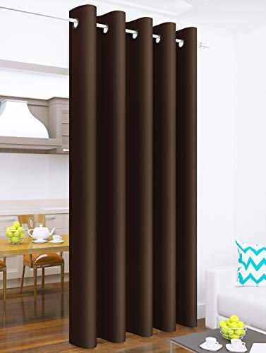 check MRP of dark brown curtains Story@Home