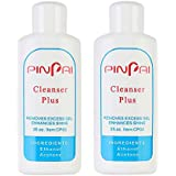 Pinpai Cleanser Plus Removes Excess Gel Enhance Shine Sticky Remover Nail UV Gel Sticky Remover Liquid Nail Art 60ml Pack of