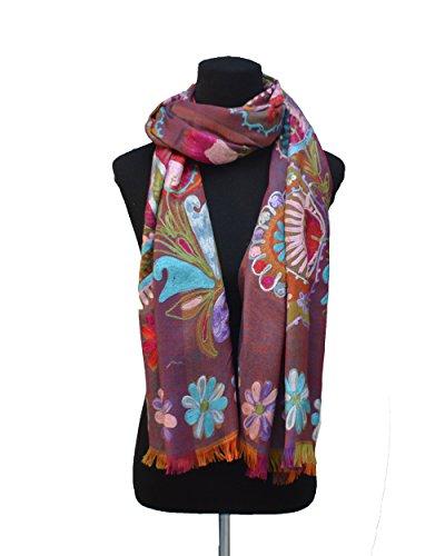 The Scarf Hut Echarpe - Femme multicolore multicolore 70 cm. b0c853e6653